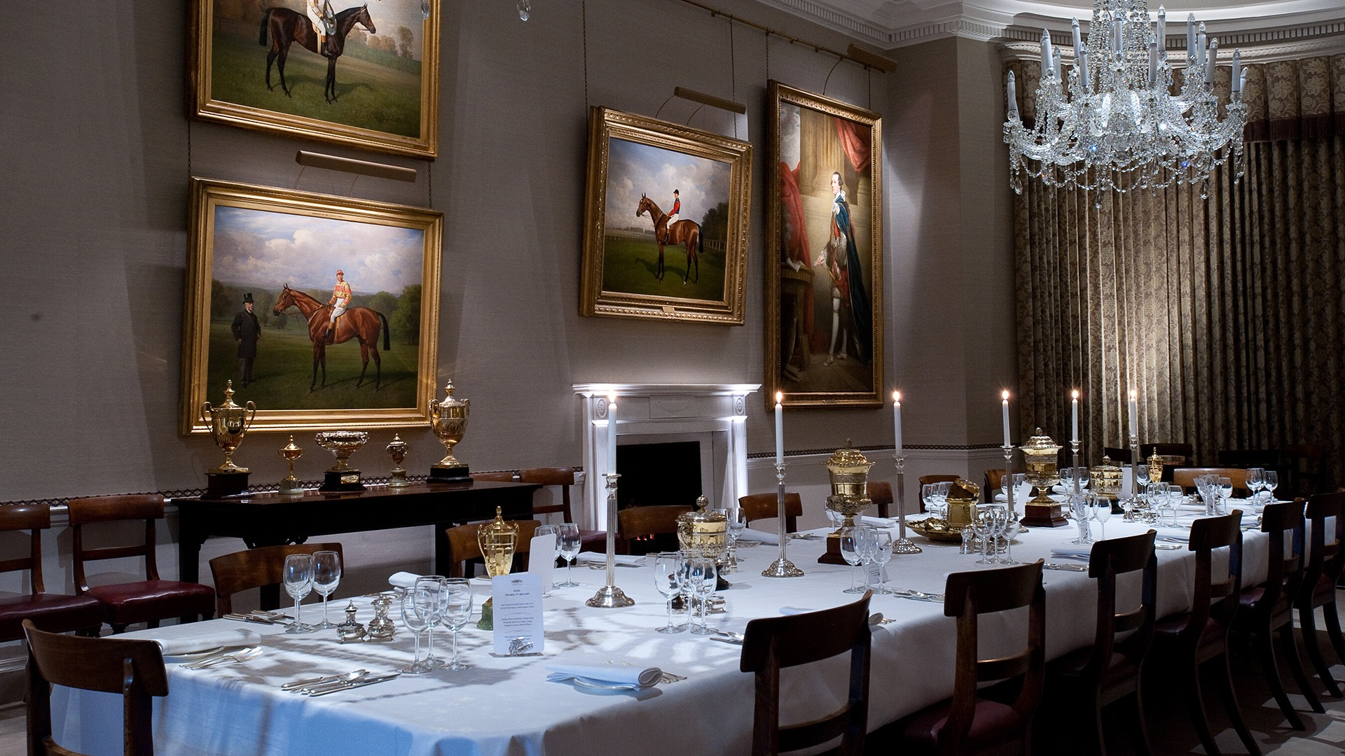 Fine Dining at The Jockey Club Rooms