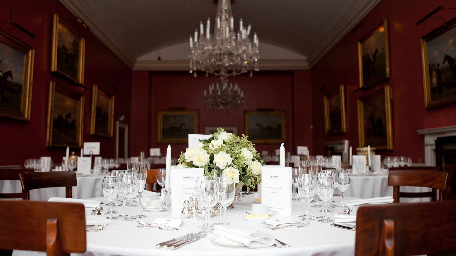 Wedding at The Jockey Club Rooms